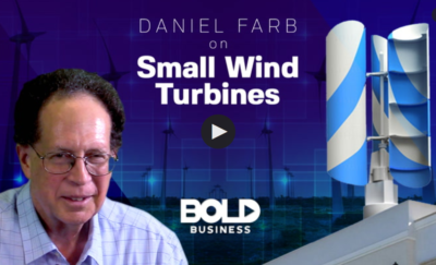 Daniel Farb on Small Wind Turbines