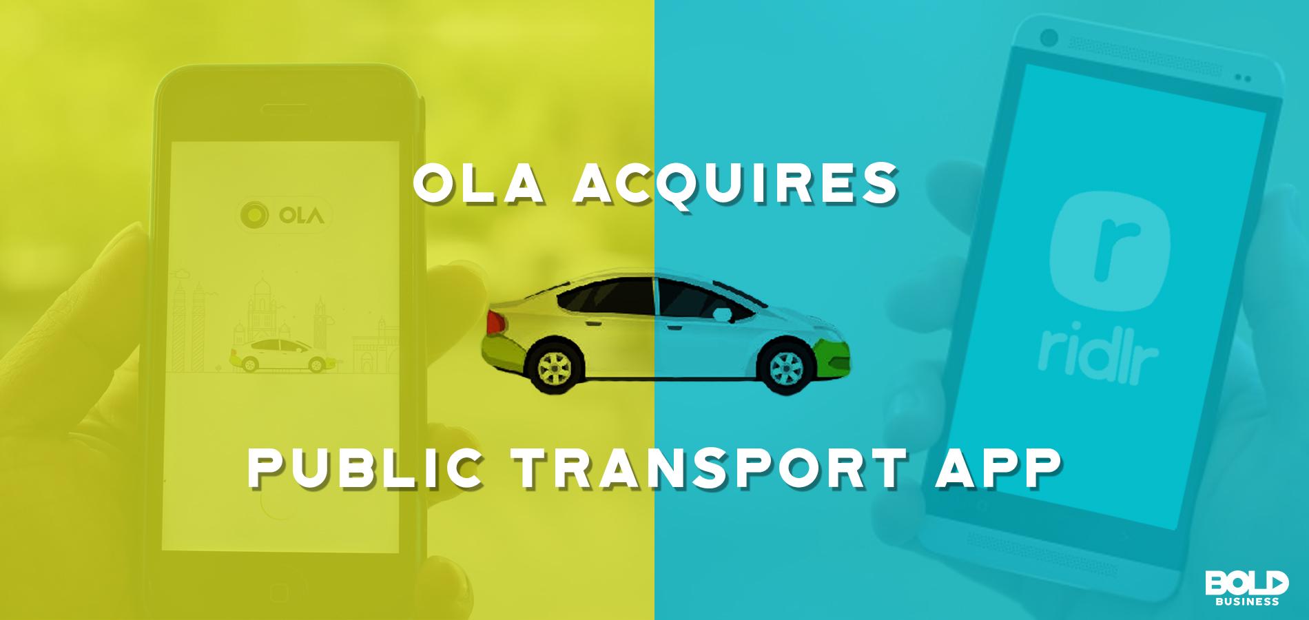 Ola Rideshare App