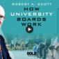 Robert Scott How University Boards Work
