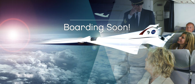 Supersonic Passenger Aircraft May Soon