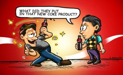 Coca Cola Alcoholic Drink