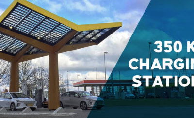 350 KW Electric Car Charging Stations