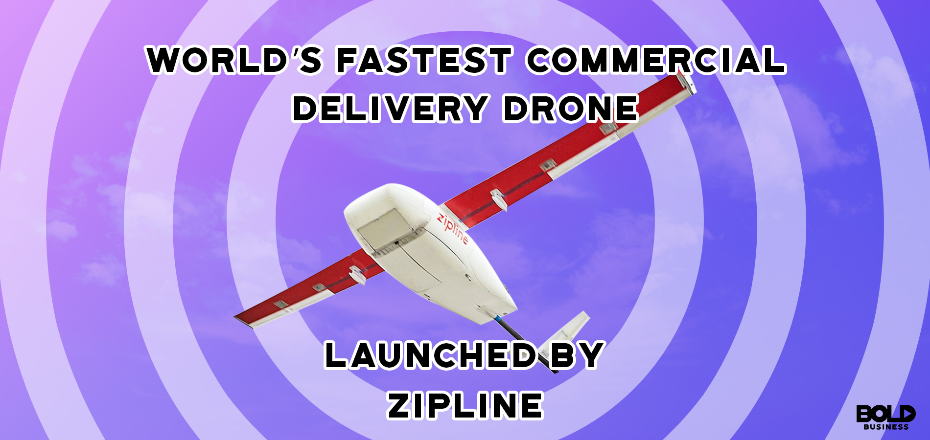 World's Fastest Commercial Delivery Drone