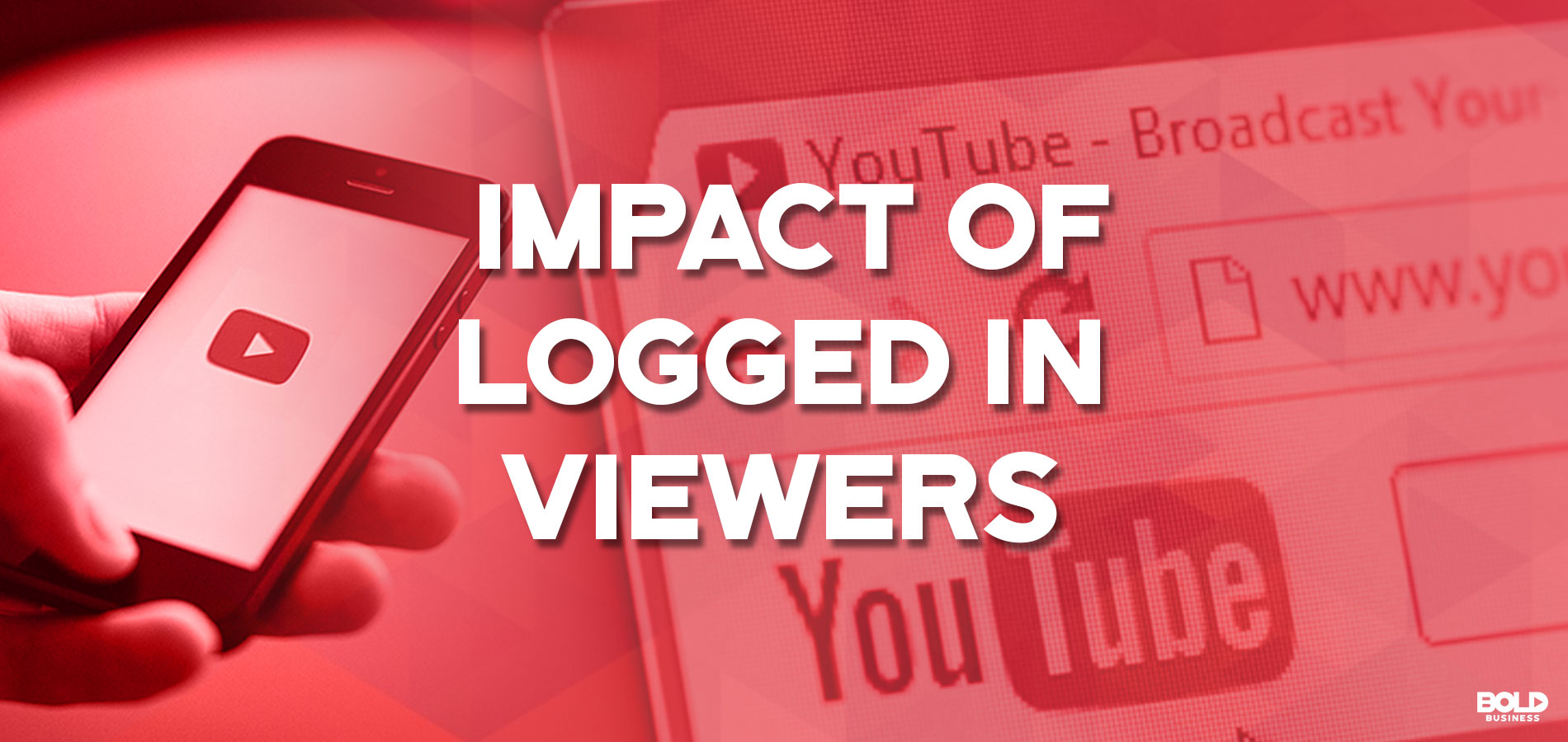 Impact of YouTube Logged In Viewers