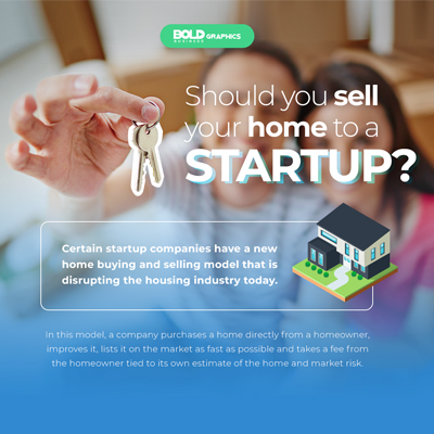 Would You Let A Startup Buy Your Home Infographic