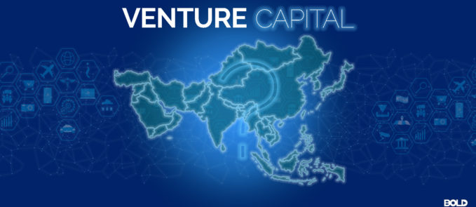 Map of the World for the Venture Capital for Tech Startups