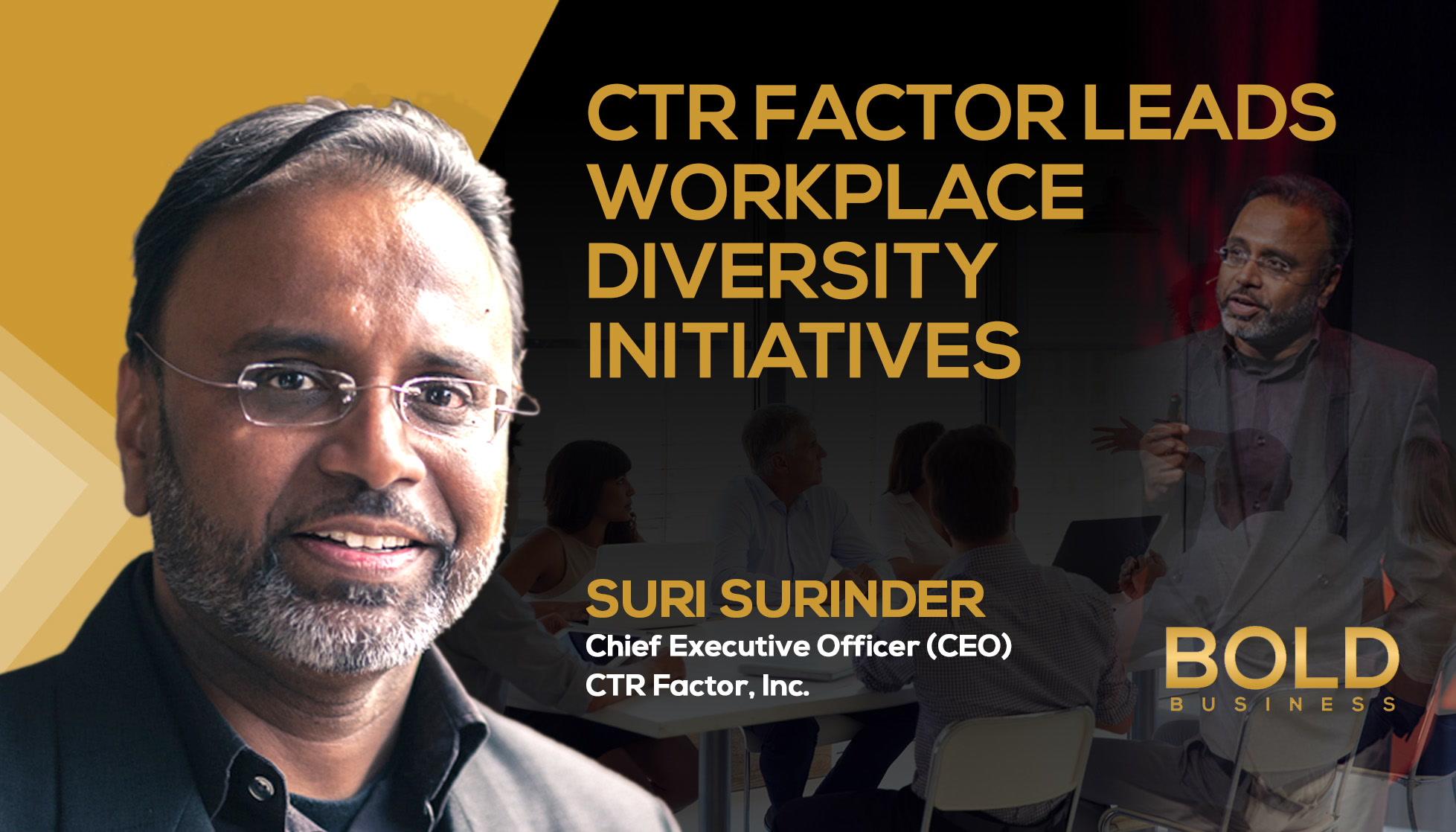 Suri Surinder: Diversity in the Workplace