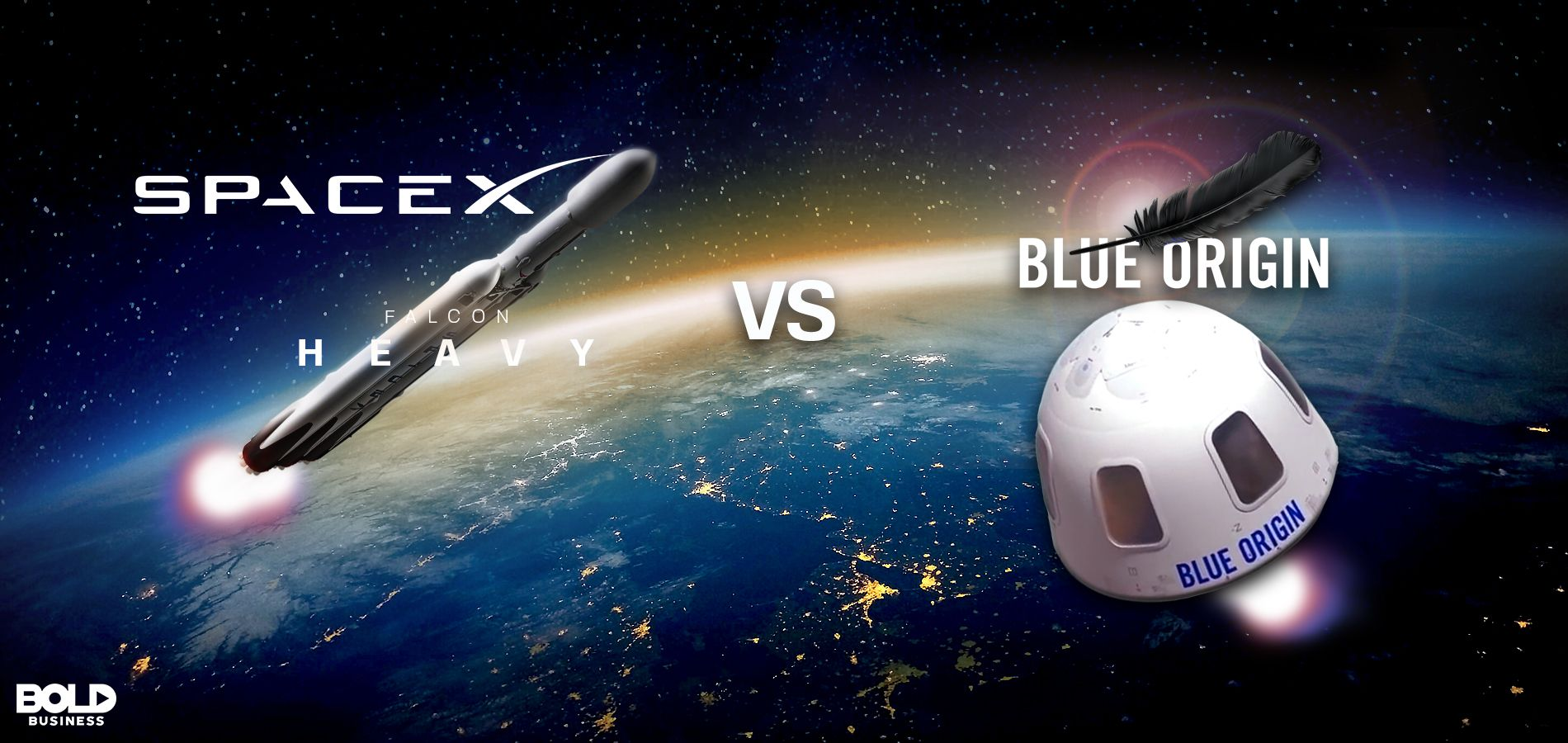 Blue Origin vs Spacex