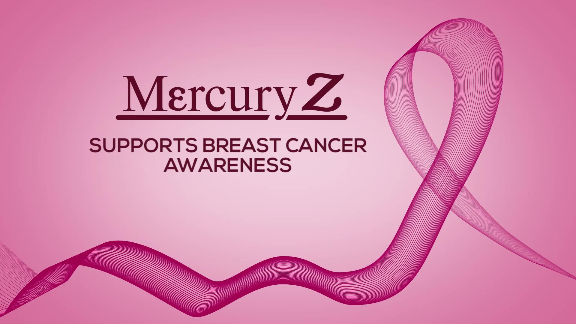 Mercury Z Supports Breast Cancer Awareness Month
