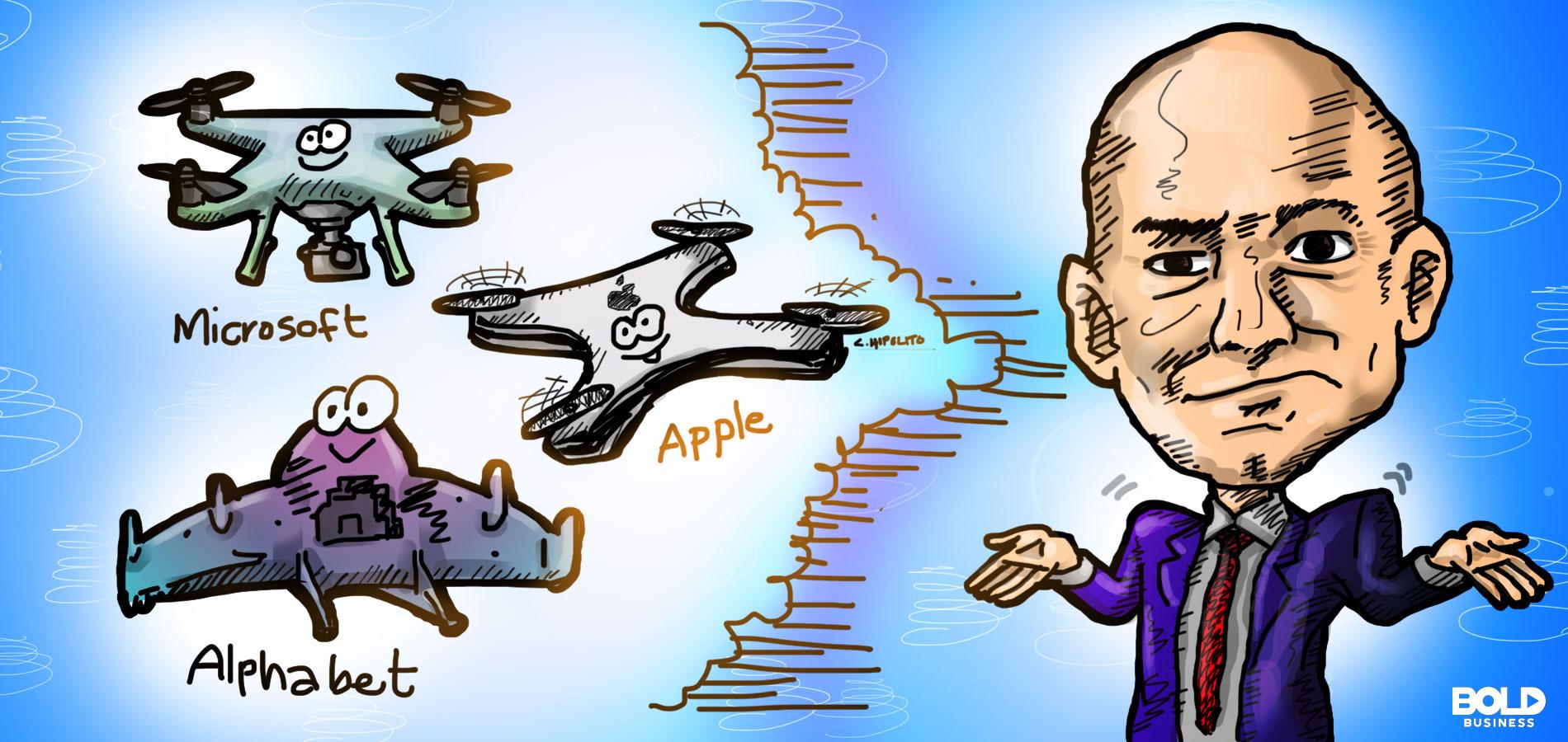 Drones Winners Minus Amazon and China's DJI