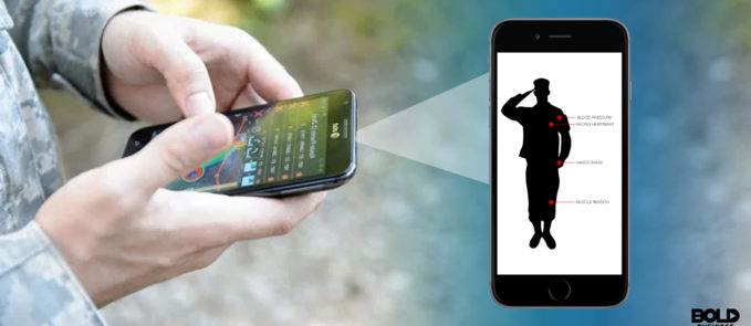 smartphones for healthcare using DoD Tracking