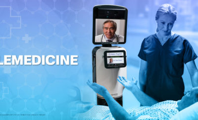 Beam is a robot-like machine used for remote telemedicine.