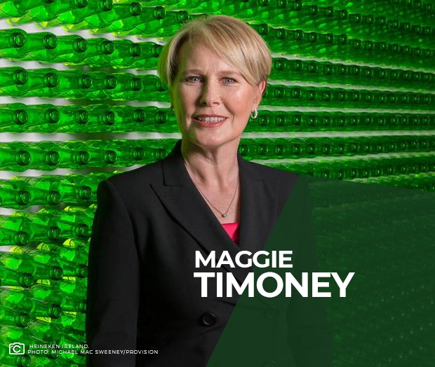 Maggie Timoney Heineken Women CEO