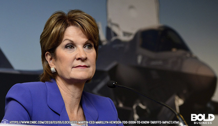 Marilyn Hewson - CEO, Lockheed Martin