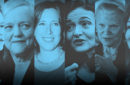 Compilation of 6 Women including Sheryl Sandberg, Susan Wojcicki, Ginni Rometty, Lucy Peng, Meg Whitman, and Safra Catz