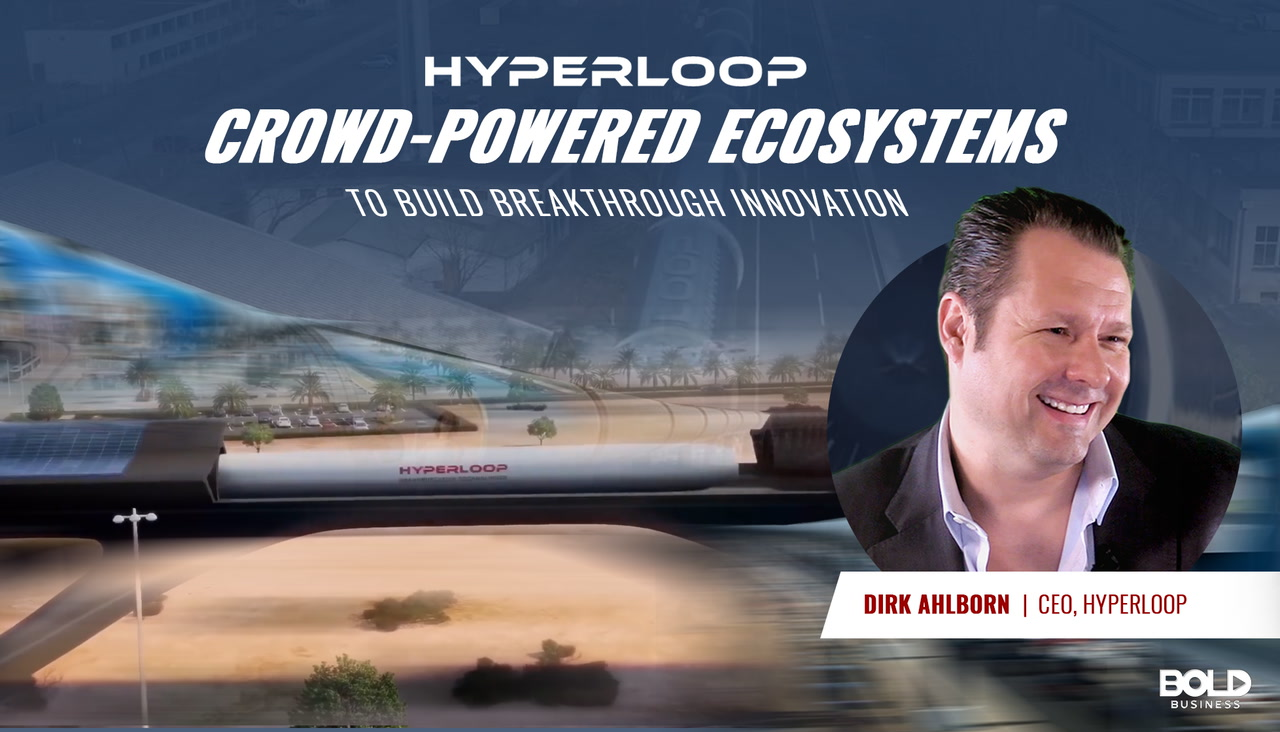 Hyperloop Using Crowdsourcing