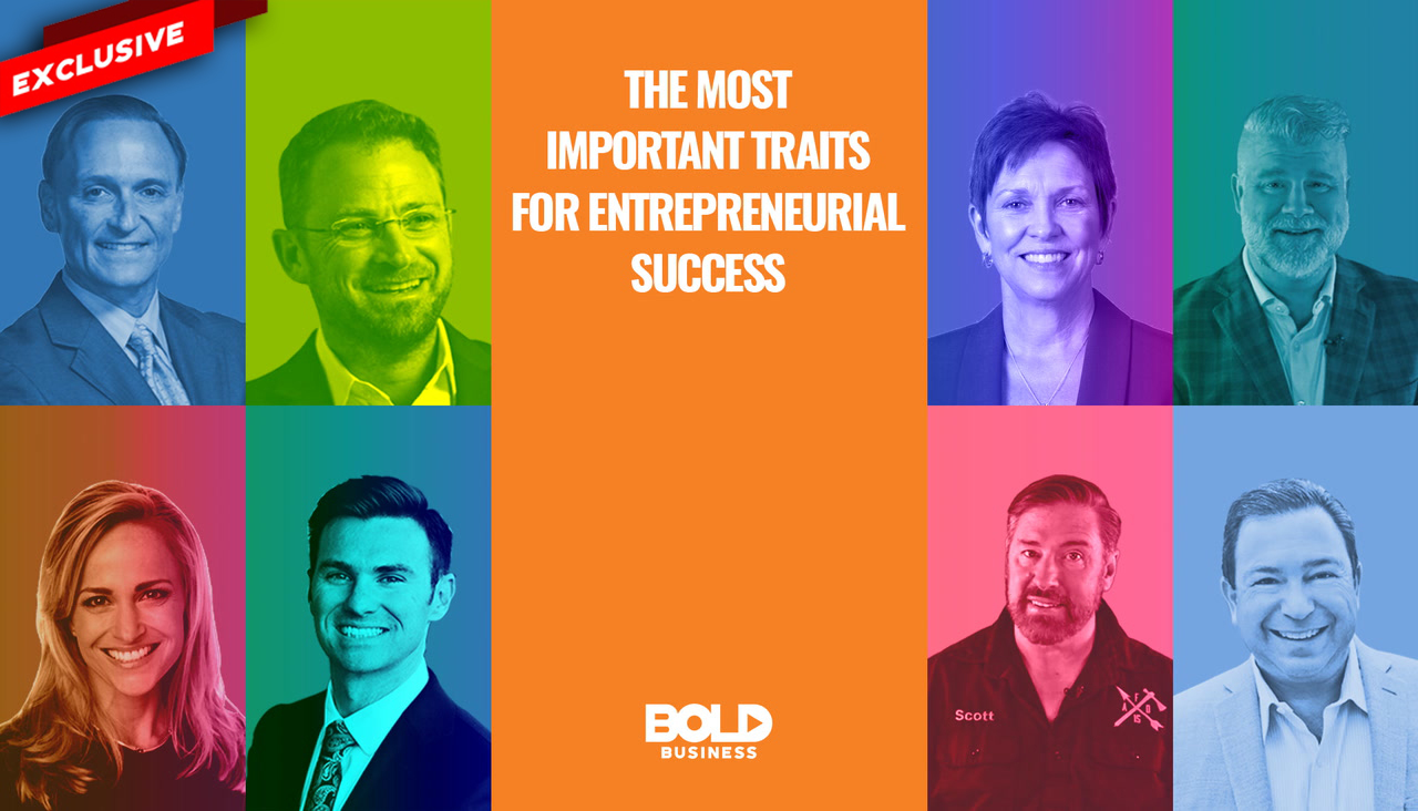 Most Important Traits for Entrepreneurial Success
