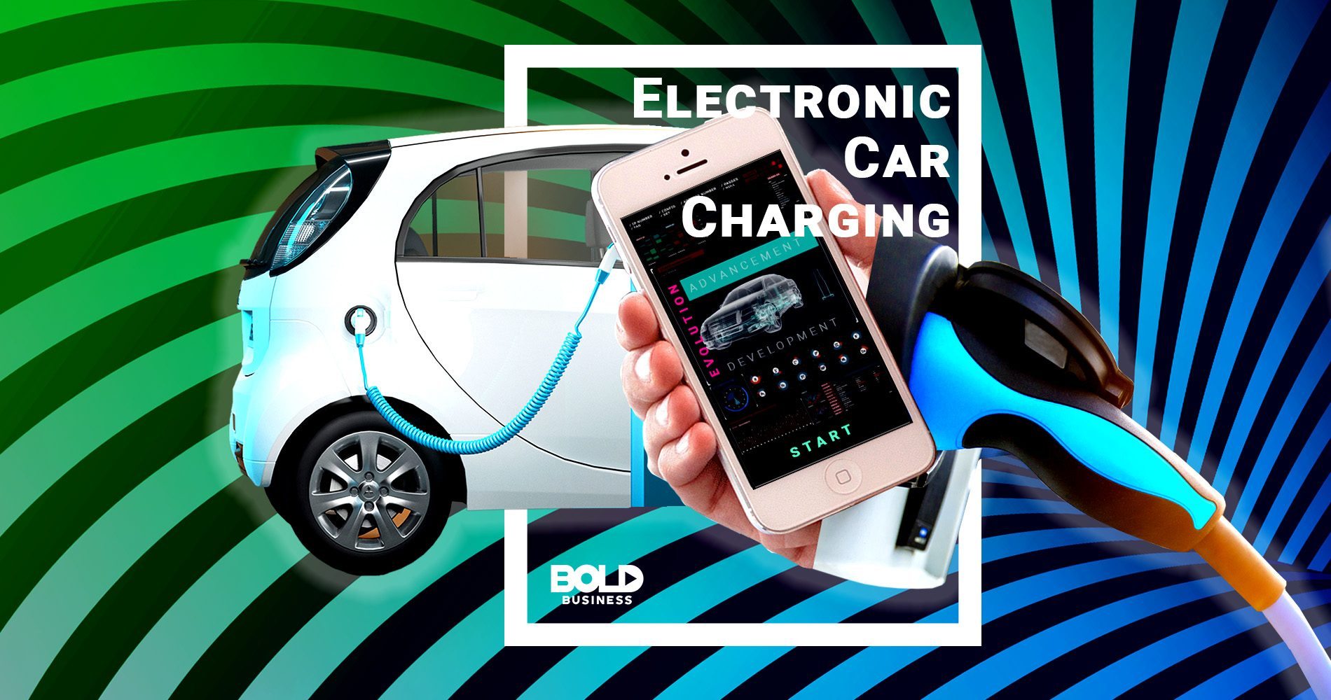 electronic car charging innovation