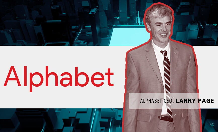 Image showing the CEO of Alphabet, Larry Page