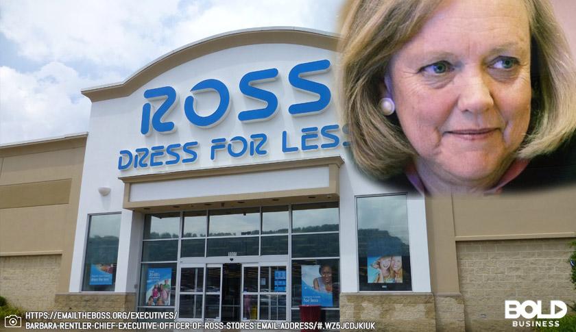 Barbara Rentler - CEO, Ross Stores
