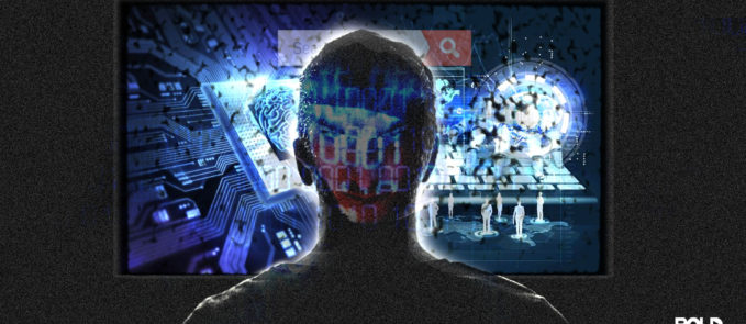 image featuring the the world of hackers and artificial intelligence