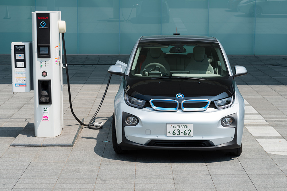 electric car charging stations of the future