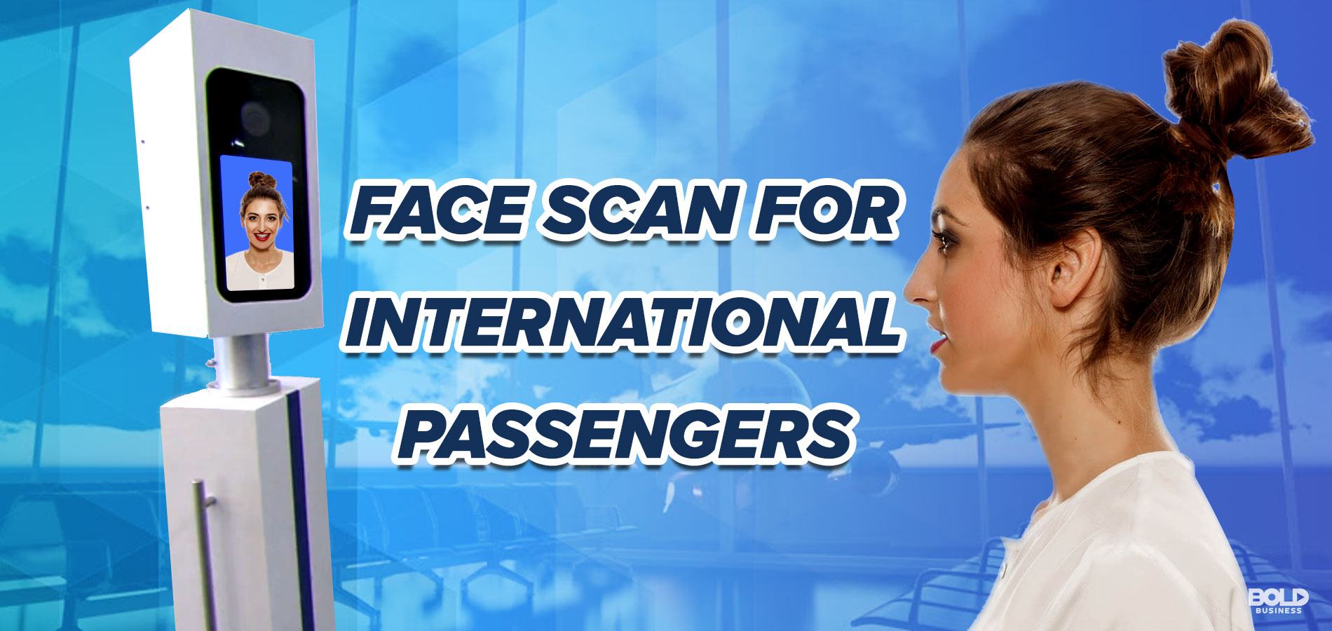 Facial Recognition Technology in Airports showing the Future of International Travel