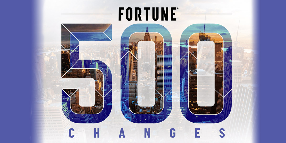 Skyline of Fortune 500