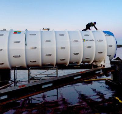 Preparing Microsoft Data Center for Submersion Underwater
