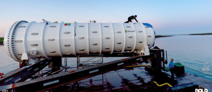 Microsoft Testing the Sea with Underwater Data Centers
