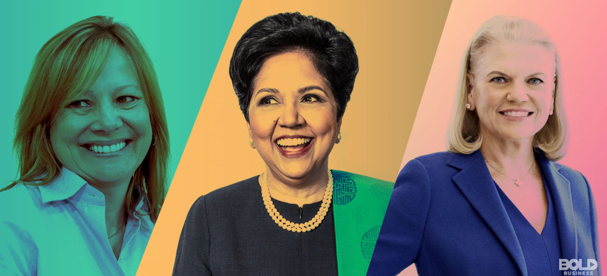 Women at the rein: Fortune 500s Female CEOs