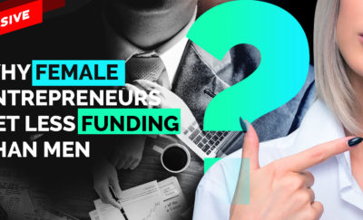 women entrepreneurs get less funding than men