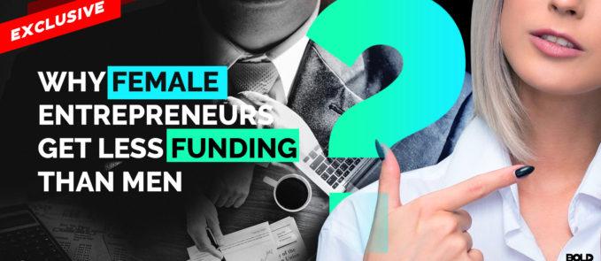 women entrepreneurs get less funding than men