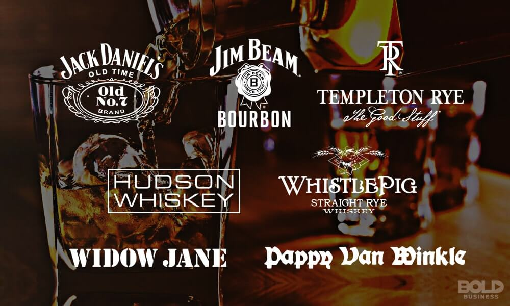 Popular American Whiskey Brands
