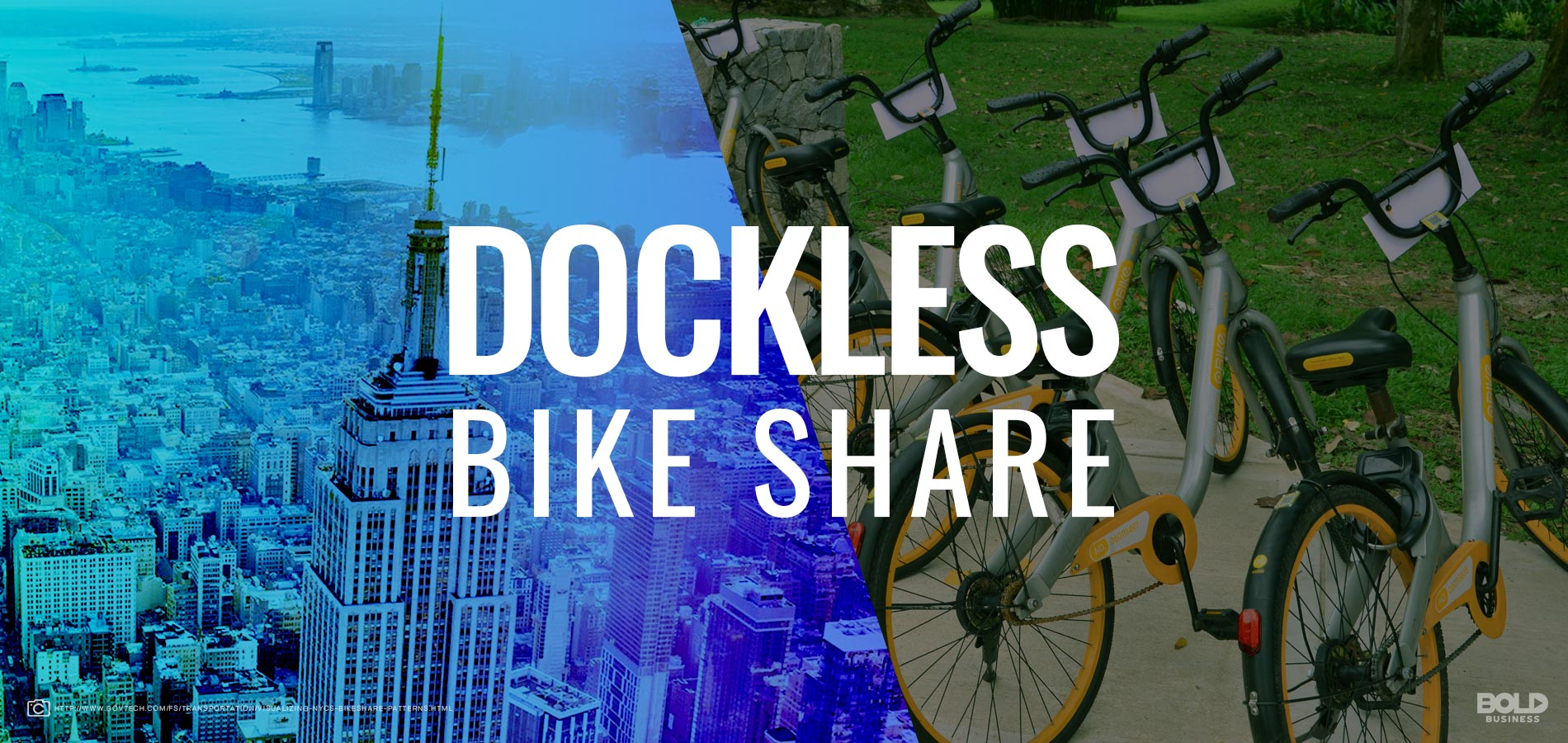 The Big Apple Catching up with the Dockless Bike Share Trend