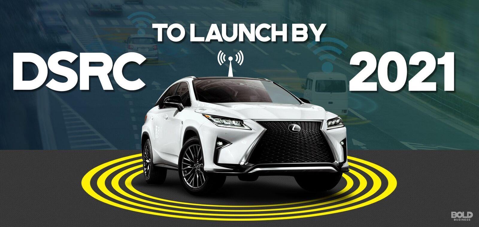 autonomous car equipped with dsrc