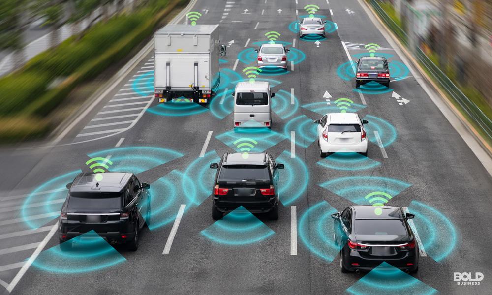 autonomous vehicles using dedicated short range communications technology