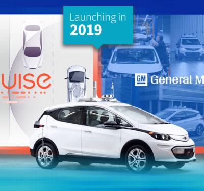 General Motors Autonomous Vehicles Launching In 2019