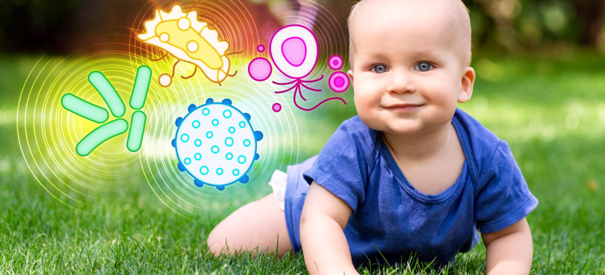 Good Bacteria for Babies–Key to Great Health