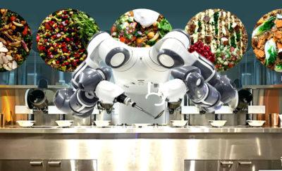 kitchen Spyce robot working