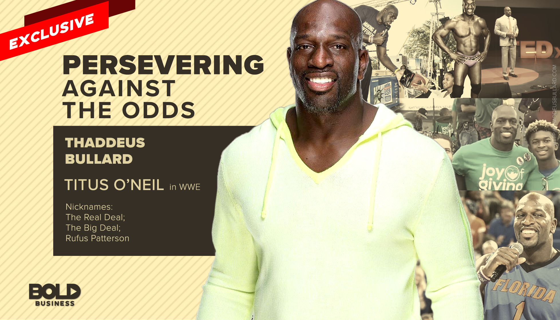 Titus O'Neil - Preserving Against the Odds