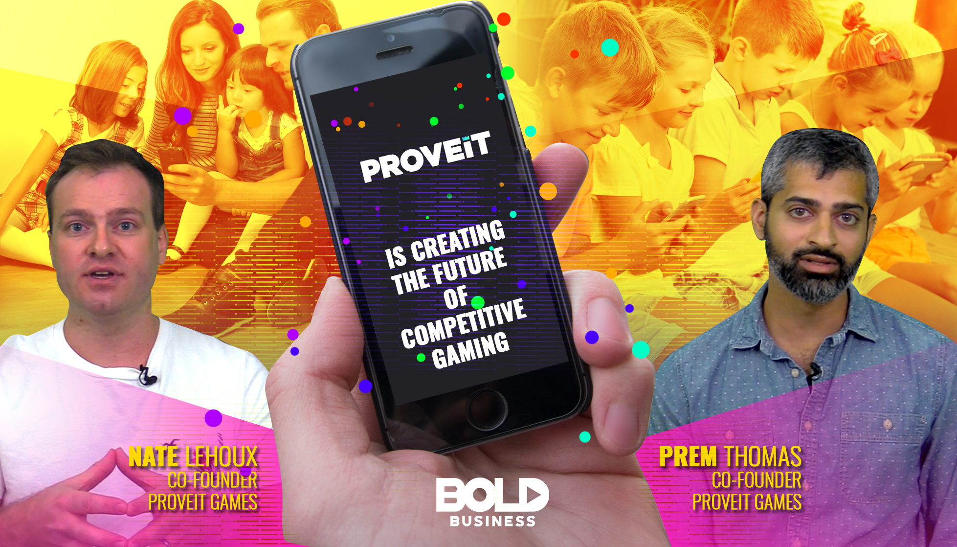 Proveit – Competitive Gaming with a Mission for Global Education