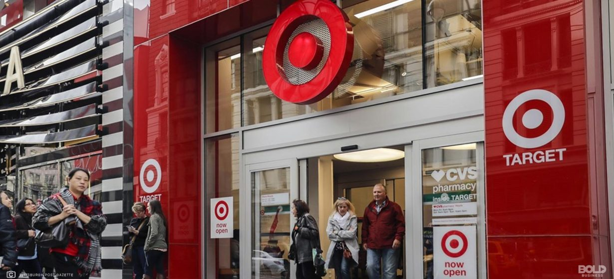 Target Department Store Hits High Store Traffic