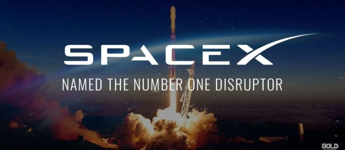 SpaceX Disrupts Rocket Industry