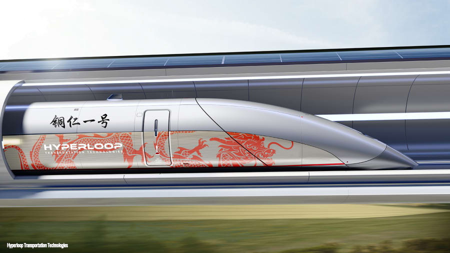China Hyperloop - Hyperloop Transportation Technologies