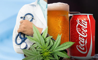 Drinks infused with cannabis