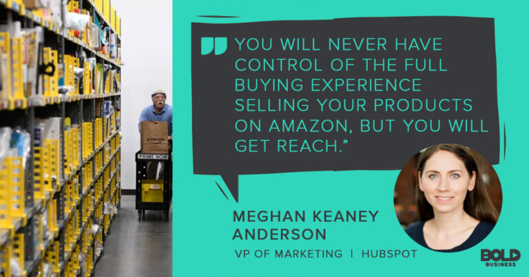 a photo quote on Amazon Storefronts by Meghan Keaney Anderson