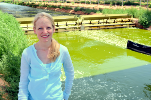Picture Rebecca White, VP of Operations at Qualitas Health and expert on Algae nutrition