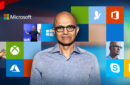 a photo of Satya Nadella posing as the Bold Leader Spotlight of the week