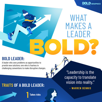 What Makes a Leader Bold?